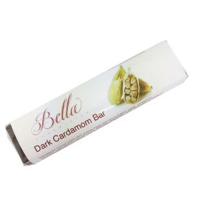 Bella Dark Chocolate Bar - Cardamon