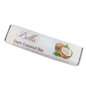 Bella Dark Chocolate Bar - Coconut