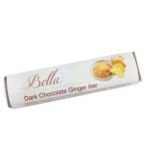 Bella Dark Chocolate Bar - Ginger