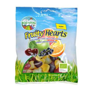 Eco-Vital Organic Fruity Hearts