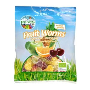 Eco-Vital Organic Fruit Sour Snakes