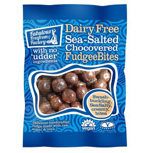 Fabulous Freefrom Factory Sea-Salted Chocovered Fudgee Bites