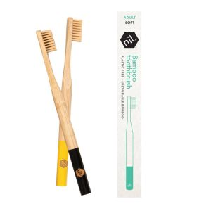 Nil Bamboo Toothbrush - Black