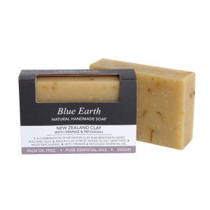 Blue Earth Soap - New Zealand Clay with Orange & Patchouli