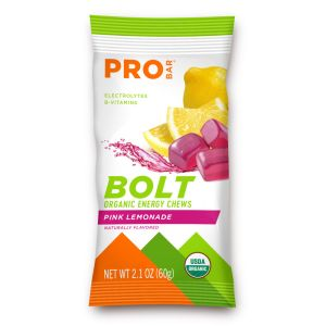 BUY 1 GET 1 FREE - Bolt Organic Energy Chews - Pink Lemonade