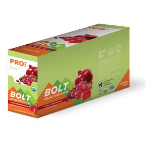 Bolt Organic Energy Chews - Cran Pomegranate - Case of 12