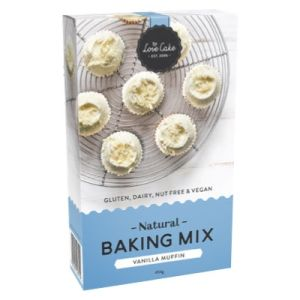 Love Cake Vanilla Muffin Mix